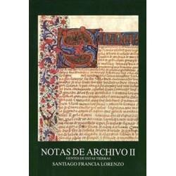 NOTAS DE ARCHIVO II.