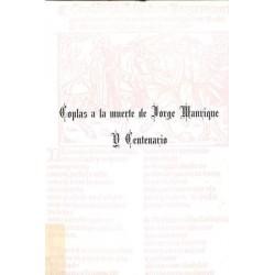 COPLAS A LA MUERTE DE JORGE...