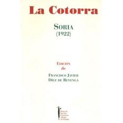 LA COTORRA. (SORIA, 1922).