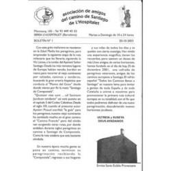 BOLETÍN JACOBEO L'HOSPITALET