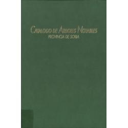 CATÁLOGO DE ÁRBOLES NOTABLES.